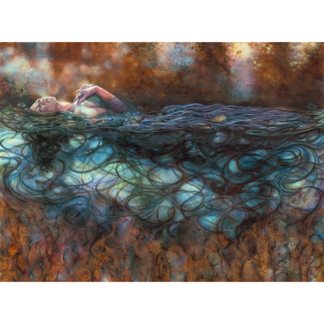Ophelia by artist Kerry Darlington