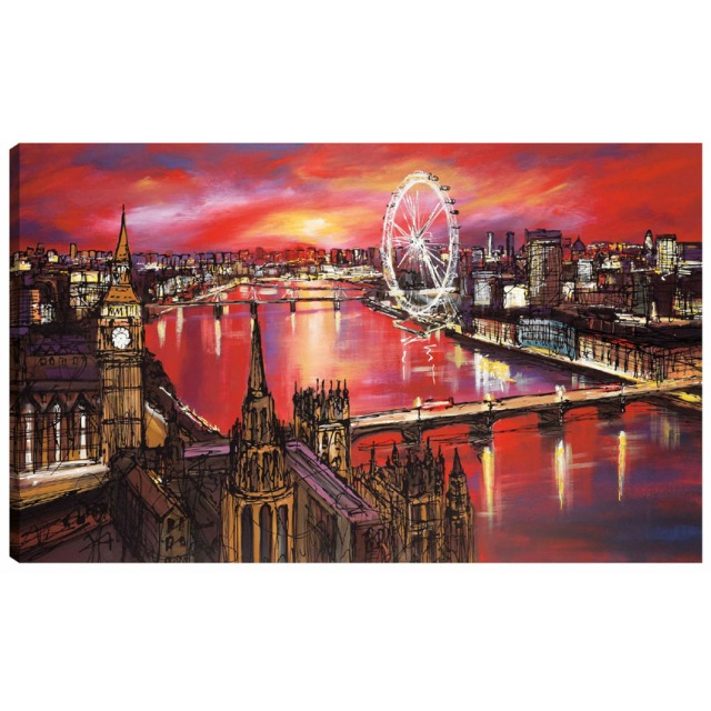 London Fire by artist Paul Kenton at The Original Art Shop